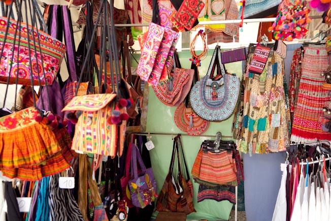 Los mercadillos hippies en Ibiza